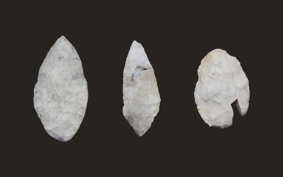 Bifacial technology at the beginning of the Upper Paleolithic in Moravia