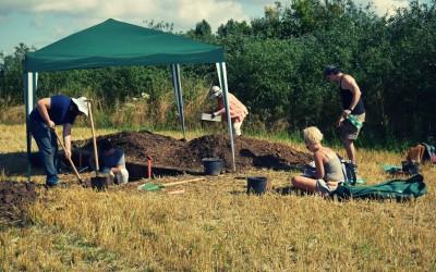Seňa I Aurignacien lelőhely új ásatása Szlovákiában