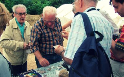 Jacques Tixier Miskolcon. Az avasi limnoszilicit kőnyersanyag lelőhely évtízezredeken át látta el őseinket eszközeik alapanyagával.